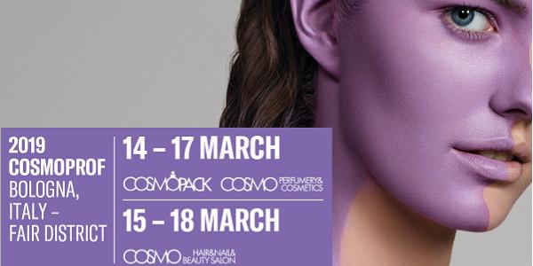 Cosmoprof - März 2019 - Bologna, Italien