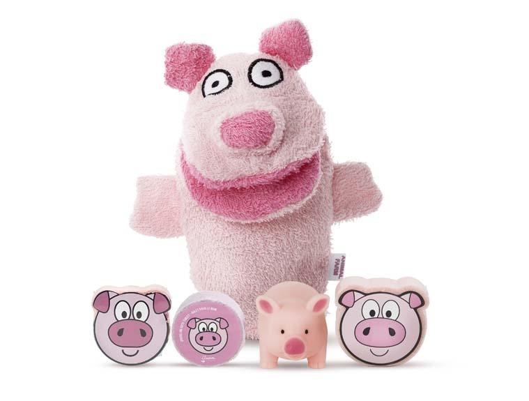 BATH SET PIG - 5PCS