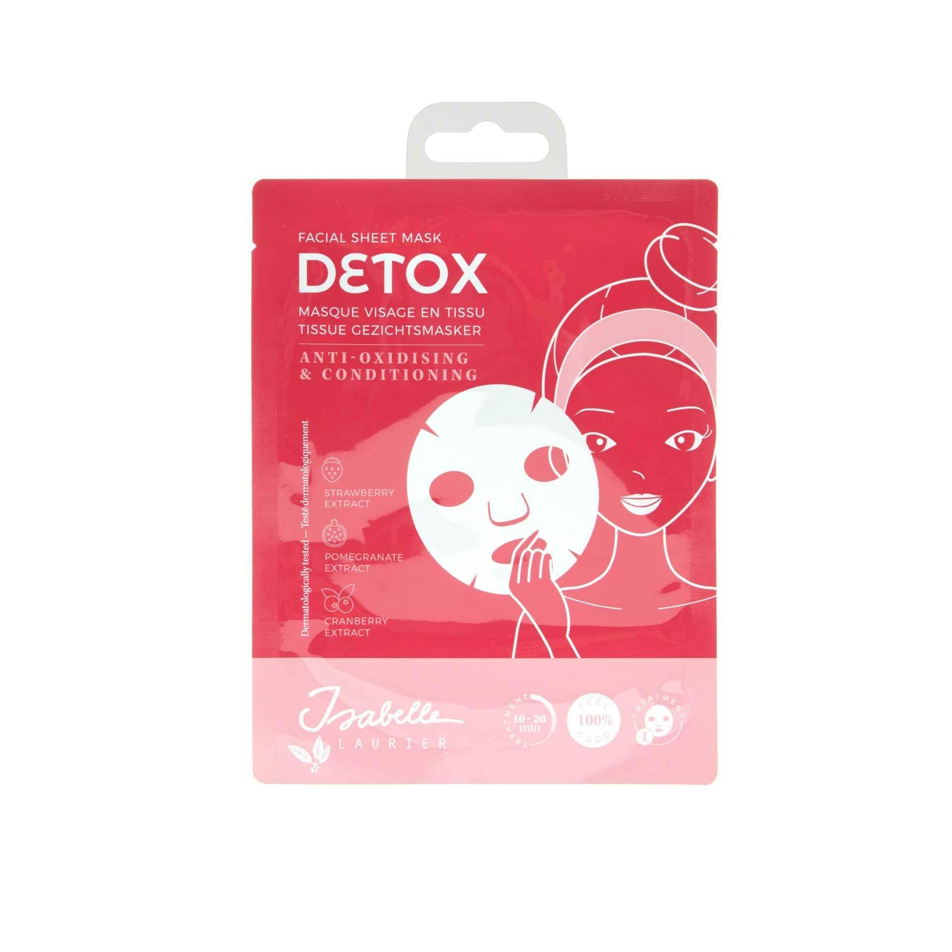 Tissue Gezichtsmasker<br/>Detox